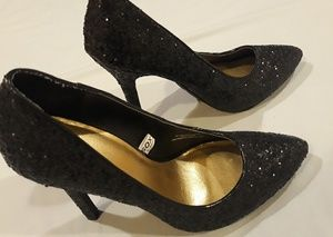 Mossimo Supply Co. Shoes - Black sparkly high heels